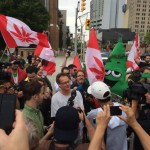 crowd scene Free Marc Emery in Windsor 12-08-2014