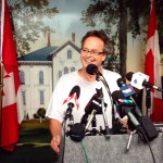 happy to be Free Marc Emery in Windsor 12-08-2014