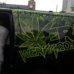 marc emery backwards in werk420 limo