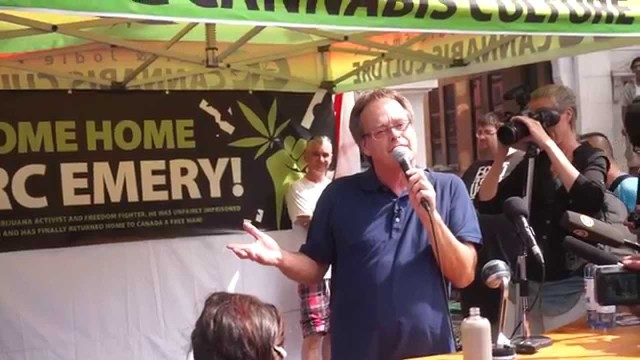 Marc Emery does Victory Square