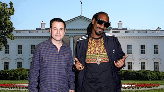 Snoop Dogg smoked up in White House bathroom