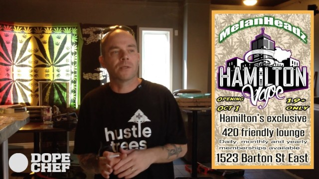Introducing MelanHeadz Hamilton Vape Lounge