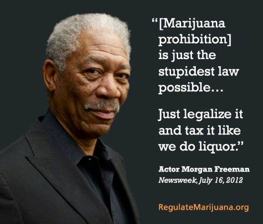 Morgan Freeman on legalization
