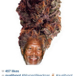 Morgan Weedman meme discussion on mobile