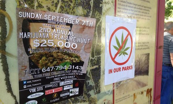 2nd Annual Marijuana Hunt in High Park