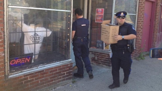 Police raid cannabis dispensary in Halifax