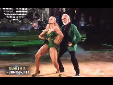 Tommy Chong on dancing with the stars