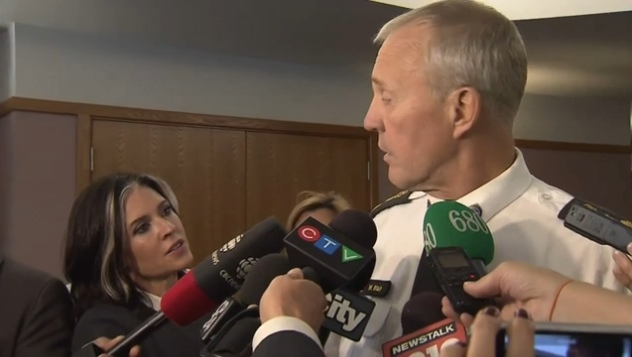 Chief Blair encouraged by CAMH legalization proposal