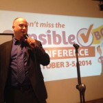 Dana Larsen speaks at The Sensible BC Conference in Vancouver