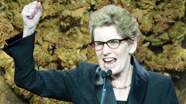 Premier of Ontario smoked weed