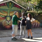 Stoner Girls Guide interview in an alley