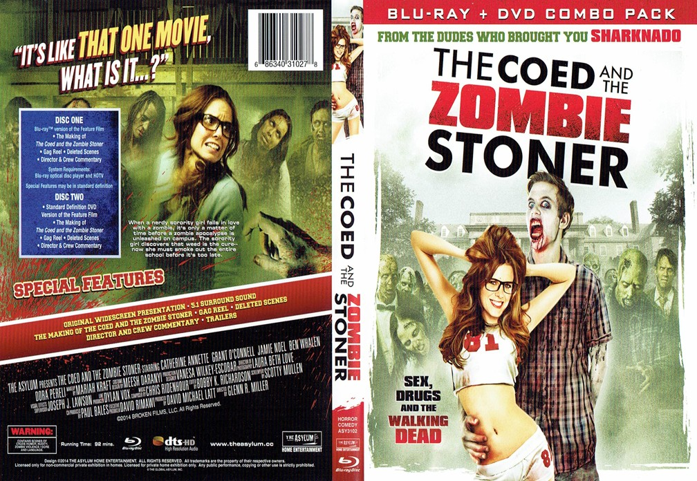 The Coed and the Zombie Stoner cover
