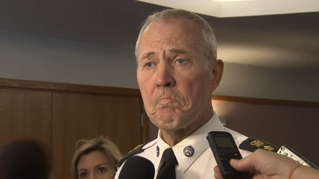 Toronto Police Chief supports legalization