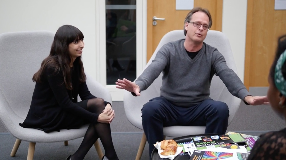 Marc and Jodie Emery in Manchester U