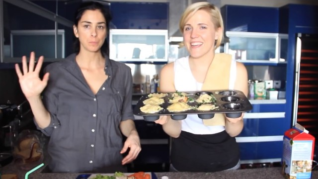 Sarah Silverman on Stoned Kitchen