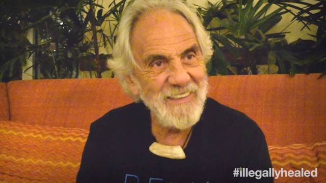 Tommy Chong beat cancer with cannabis