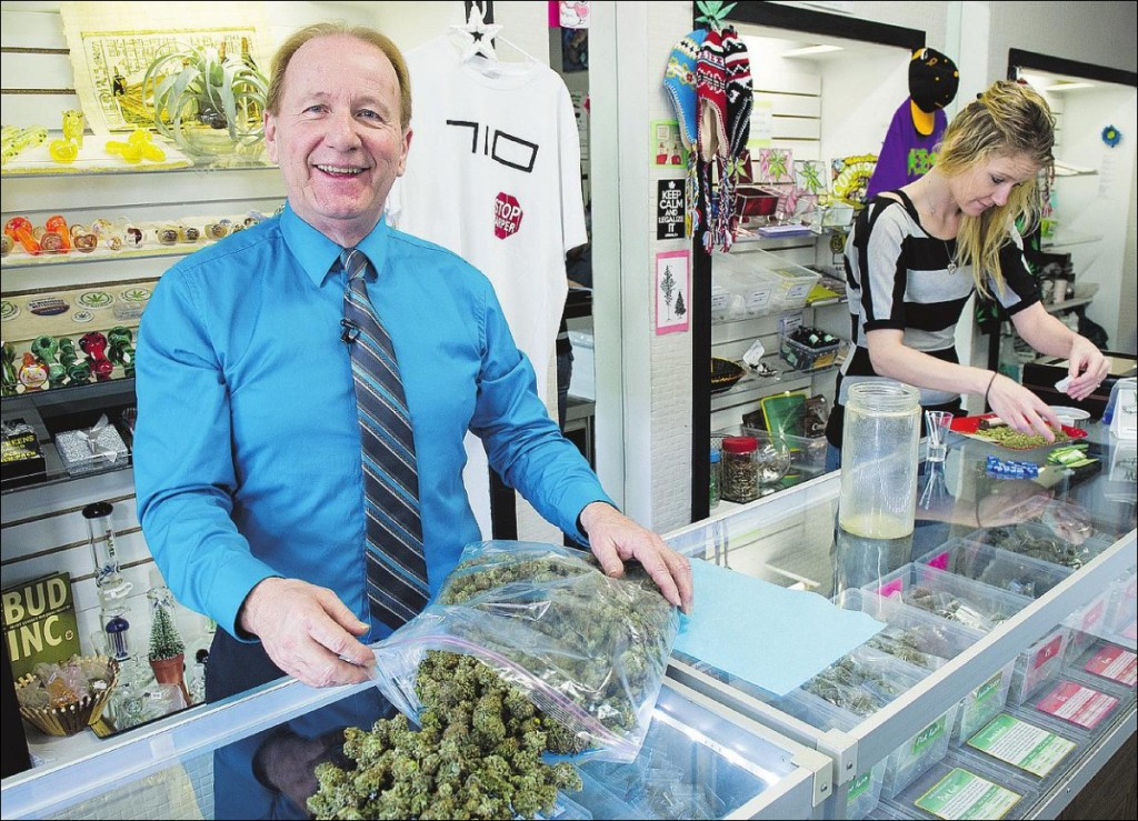 Don Briere once had 33 illegal growing operations - and has served jail time. Now he's heavily involved in pot retailing. Photograph by: Jenelle Schneider, Postmedia News , National Post