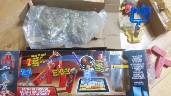 85 grams of pot found in Angry Birds toy