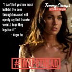 MeganFox-on-cannabis