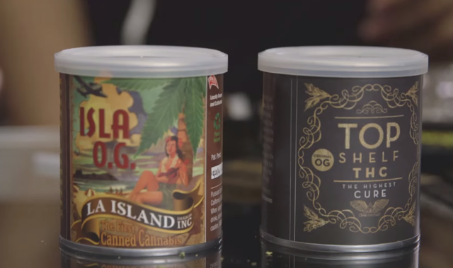 canned cannabis
