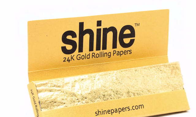 shine gold papers