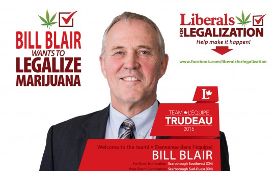 Bill Blair promotes legalization