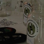 Canabis Rights prize draw jars