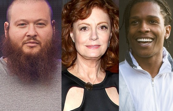 ​Susan Sarandon to blaze with rappers