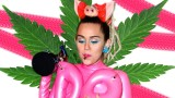 Miley Cyrus smokes up at MTV Awards
