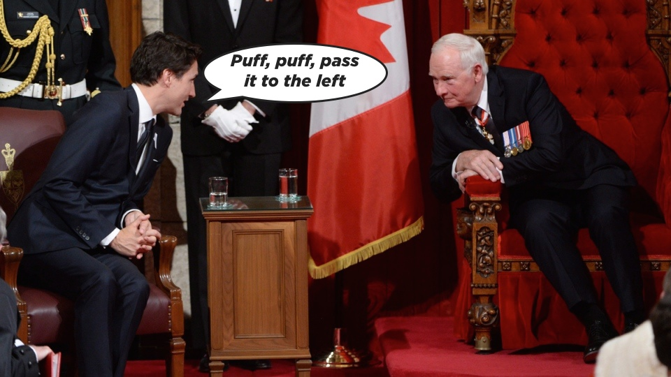 Trudeau throne speech session