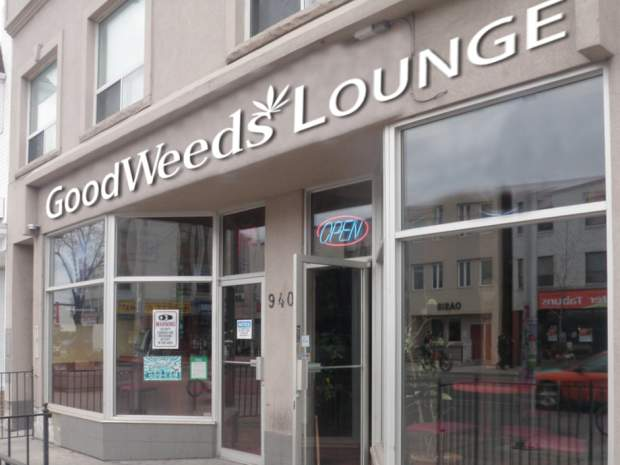 Their business, one of the first of its kind in Canada, sells marijuana, cannabis resins and extracts, which can be used in vaporizers at the cafe on the Danforth. / Google Maps