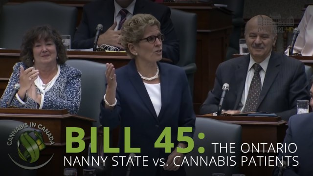 Bill 45: Ontario The Nanny State