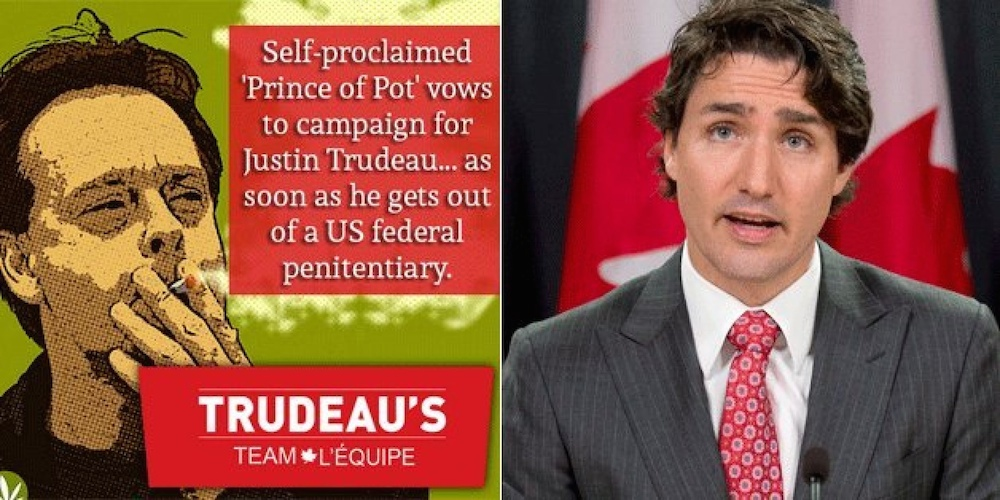 Prince of Pot for Trudeau