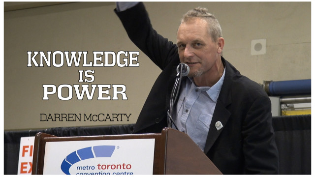 Darren McCarty at Lift Cannabis Expo