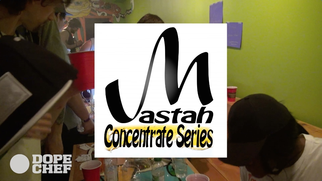 Mastah Concentrates series throwdown
