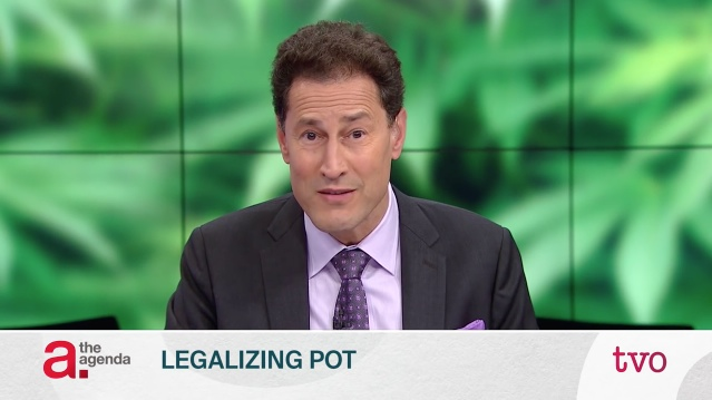 legalizing pot on the agenda