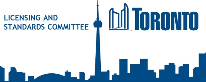 licensing standards committee Toronto