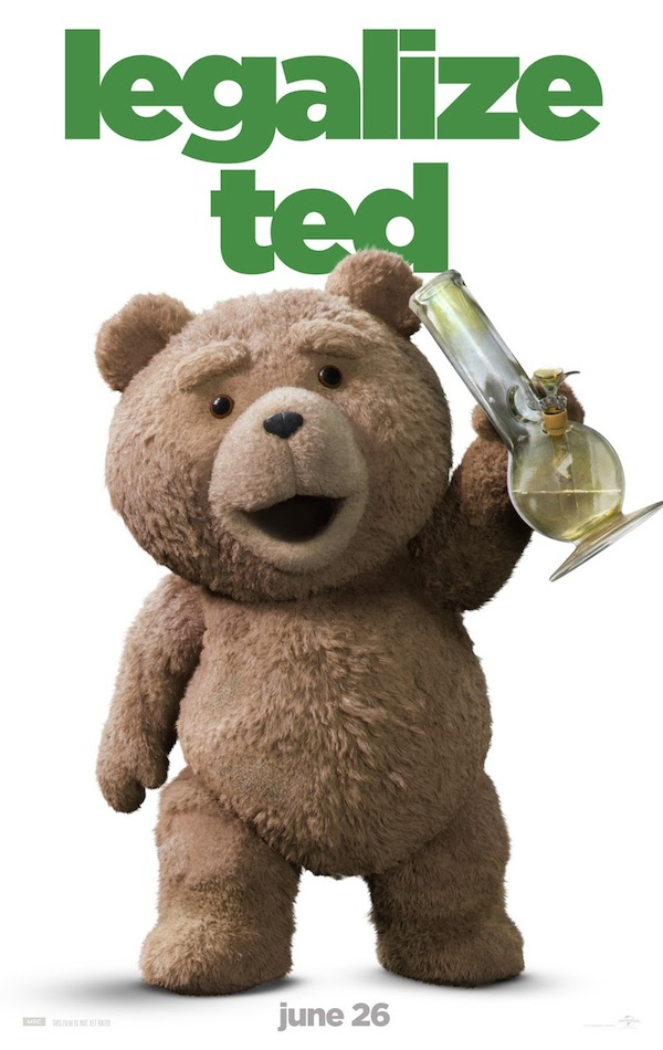 legalize Ted poster