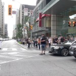 session in the streets Bloor street cannabis