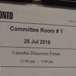 cannabis discussion forum committee notice
