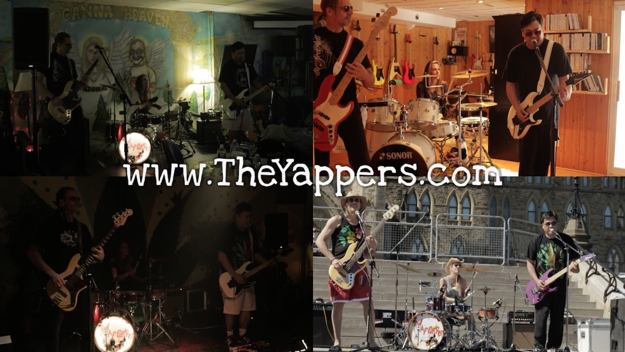 The Yappers live performances