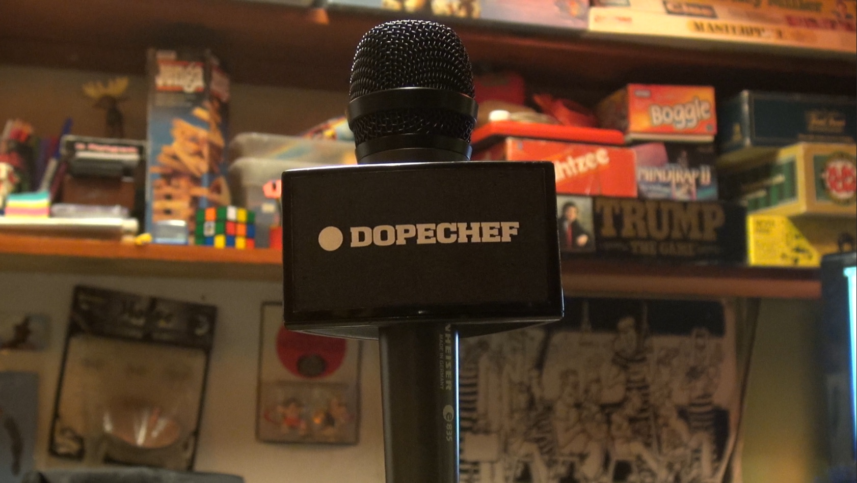 Dopechef media at the underground