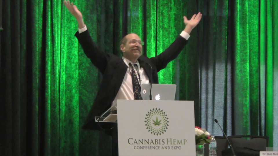 Dr Bob Melamede at Cannabis Hemp Expo