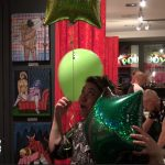 green market balloons love art