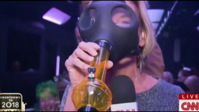 CNN gets high for Happy New Years 2018
