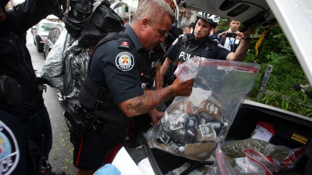 Toronto Police sample some edibles