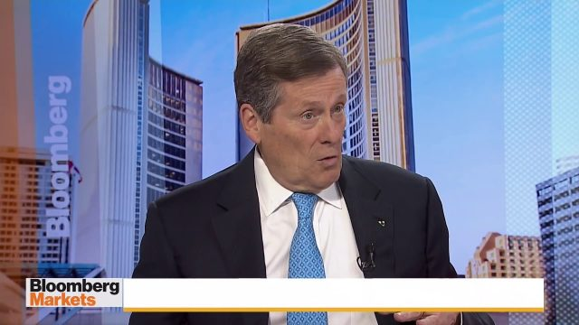 Mayor of Toronto questions legalization