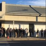 Canada legal cannabis lineup day one Edmonton