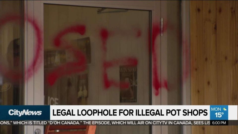 Legal loophole for cannabis dispensaries